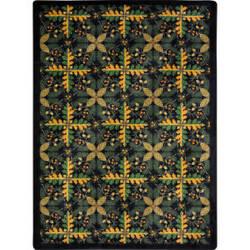 Joy Carpets Kaleidoscope Tahoe Black Area Rug
