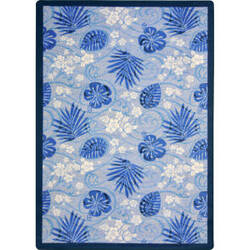 Joy Carpets Kaleidoscope Trade Winds Indigo Area Rug