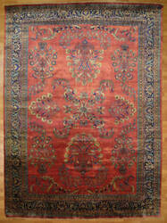 Kalaty Oak 149660 Red Area Rug