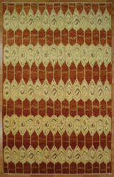 Kalaty Oak 347964 Red Ivory Area Rug