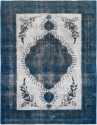 Kalaty Oak Pak Vintage 4372 Gray - Blue Area Rug