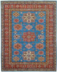 Kalaty Oak Pak Kazak 4498 Blue Area Rug