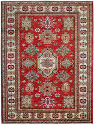 Kalaty Oak Pak Kazak 4520 Red Area Rug
