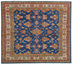 Kalaty Oak Pak Kazak 4558 Blue Area Rug