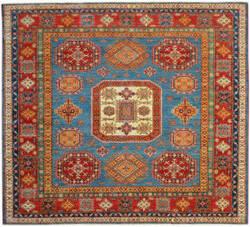 Kalaty Oak Pak Kazak 4644 Blue Area Rug
