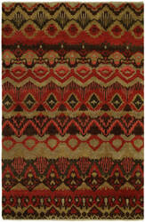 Famous Maker Artisan 100054 Rusty Red Area Rug