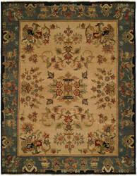 Famous Maker Carolton 100888 Victorian Indigo Area Rug