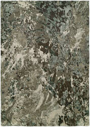 Famous Maker Onyx 100578 Abstract Earth Tones Area Rug