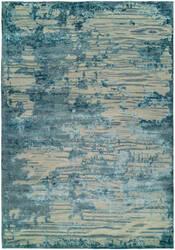 Famous Maker Elated 100365 Capri Blue Area Rug
