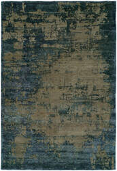 Famous Maker Elated 100367 Vintage Denim Area Rug