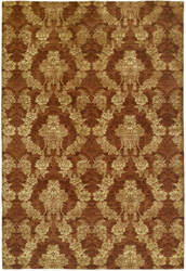 Famous Maker Grimani 100679 Autumn Spice Area Rug