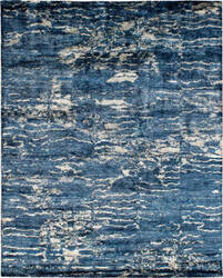 Famous Maker Insight 100943 Blue Area Rug