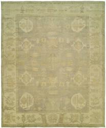 Famous Maker Karmal 100611 Slate - Ivory Area Rug