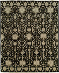 Famous Maker Kozoa 100128 Almost Black Area Rug