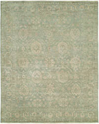 Famous Maker Magan 100182 Antique Aqua Area Rug