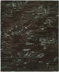 Kalaty Origins Or-765 Charcoal Blue Area Rug