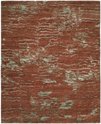 Famous Maker Oracle 100766 Rust Mist Area Rug