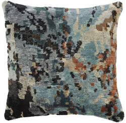 Kalaty Bespoke Pillow Pb-072 Multi Beige-Blue