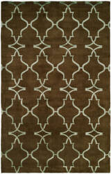 Famous Maker Portico 100344 Java Brown Area Rug