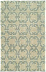 Famous Maker Portico 100345 Cloud Blue Area Rug