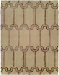 Famous Maker Portico 100348 Travertine Area Rug