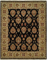 Kalaty Pasha Ph-973 Black - Gold Area Rug