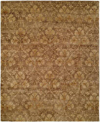 Famous Maker Royal Manner Derbysh 100729 Golden Brown Area Rug