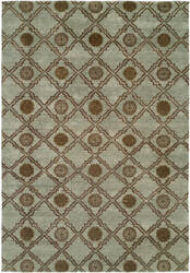 Famous Maker Royal Manner Derbysh 100734 Light Blue Area Rug