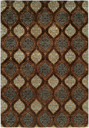 Kalaty Royal Manner Derbysh Rm-736 Brown Area Rug