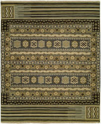 Famous Maker Soumak 100482 Steel Area Rug