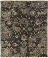 Famous Maker Soumak 100489 Brown / Multi Area Rug