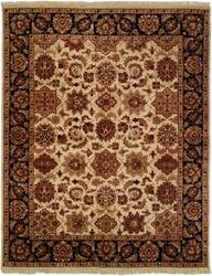 Kalaty Lateef Lt-805 Ivory/Black Area Rug