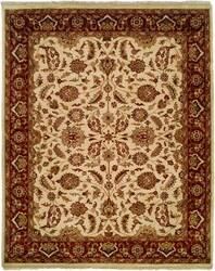 Kalaty Lateef Lt-808 Ivory/Antique Rust Area Rug