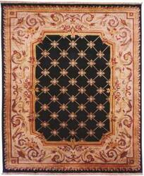 Kalaty Le Palais Ps-510 Black/Ivory Area Rug