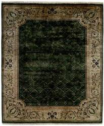 Kalaty Riviera Rv-615 Medium Green/Ivory Area Rug