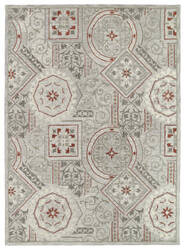 Kaleen Brooklyn 5302-73 Pewter Area Rug