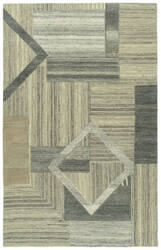 Kaleen Alzada Alz04-49 Brown Area Rug
