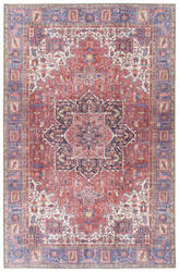 Kaleen Boho Patio Boh04-25 Red Area Rug