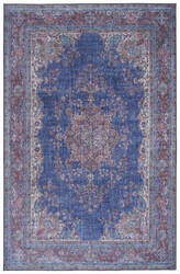 Kaleen Boho Patio Boh09-17 Blue Area Rug