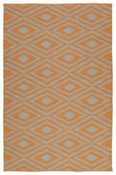 Kaleen Brisa Bri02-89a Orange Area Rug