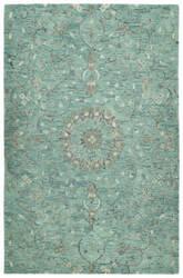 Kaleen Chancellor Cha01-78 Turquoise Area Rug