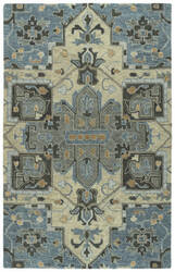 Kaleen Chancellor Cha09-17 Blue Area Rug