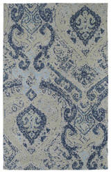 Kaleen Cozy Toes Ctc04-17 Blue Area Rug
