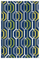 Kaleen Escape Esc08-22 Navy Area Rug
