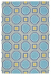 Kaleen Escape Esc11-17 Blue Area Rug