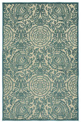 Kaleen A Breath of Fresh Air Fsr102-17 Blue Area Rug