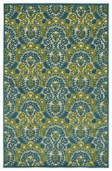 Kaleen A Breath of Fresh Air Fsr107-17 Blue Area Rug