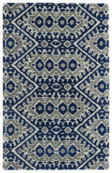 Kaleen Global Inspirations Glb01-17 Blue Area Rug
