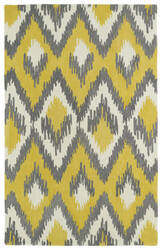 Kaleen Global Inspirations Glb10-28 Yellow Area Rug