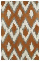 Kaleen Global Inspirations Glb10-53 Paprika Area Rug